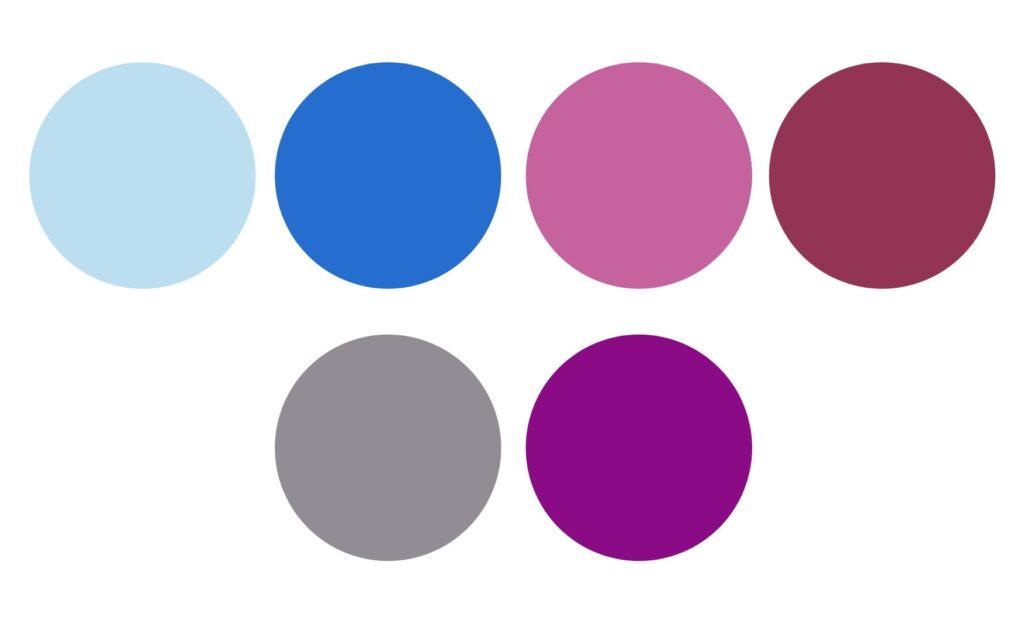 kolor w szafie kapsułowej